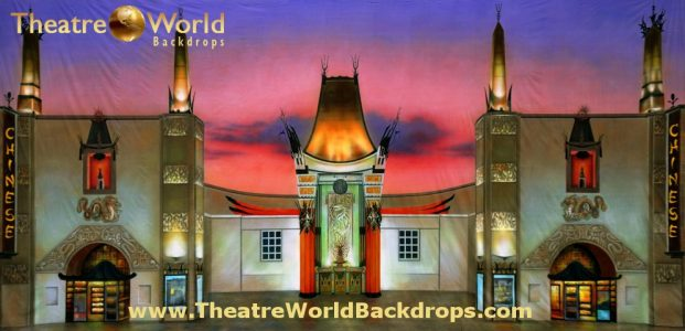 Chinese Theater Scenic Backdrop