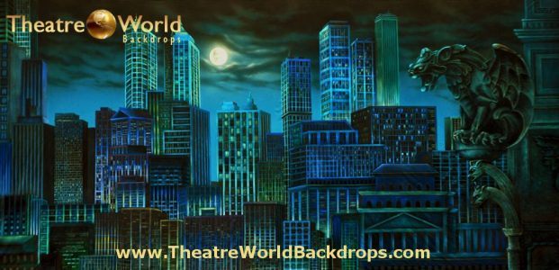 Gotham Scenic Backdrop