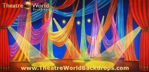 Le Cirque Celebration Scenic Backdrop