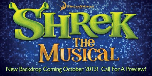 TheatreWorld's Shrek Professional Scenic Backdrops Coming Soon