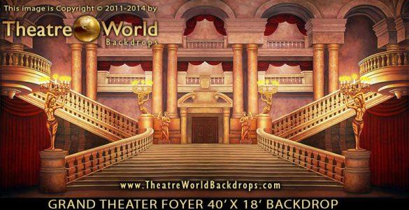 Grand Theater Foyer - B Scenic Backdrop