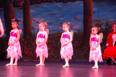 Young Dancers from the Frisco Dance Force with TheatreWorld Professional Scenic Backdrop