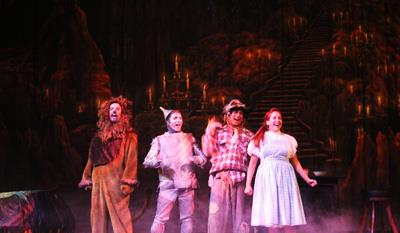 Wizard of Oz Production with TheatreWorld Backdrops Professional Scenic Backdrop Phantom's Grotto