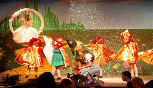 Lincoln High SChool's production of the WIZARD OF OZ