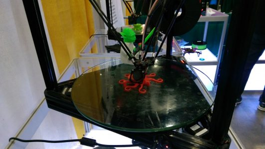 3D Printer at the 2015 USITT Stage Expo