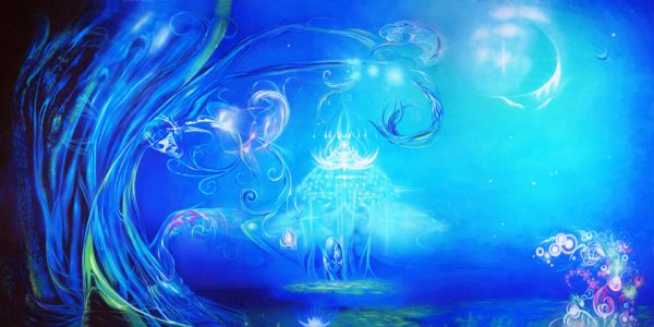 Magical Illusions Professional Scenic Alice in Wonderland Backdrop