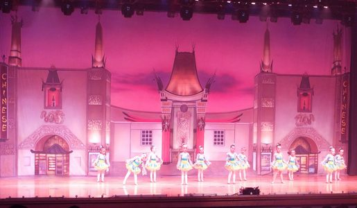 Professional Scenic Backdrops Chinese Theater Charlene's School of Dance