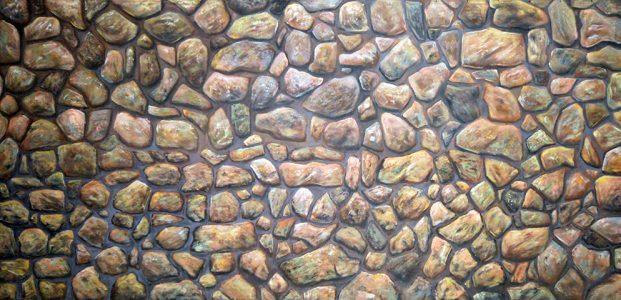 Aladdin Field Stone Wall Professional Scenic Backdrop