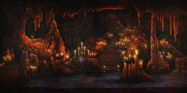 Aladdin Phantom's Grotto Professional Scenic Backdrop