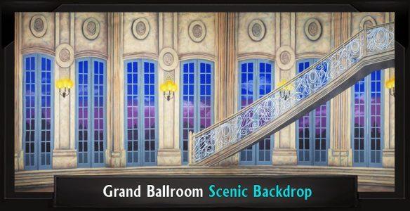Grand Ballroom Professional Scenic Backdrop