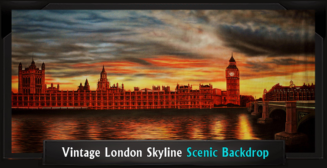 Mary Poppins Going Beyond The Script Theatreworld Backdrops