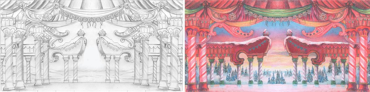 Land of Sweets Design Sketches
