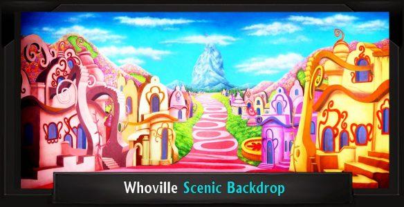 Whoville Scenic Backdrop