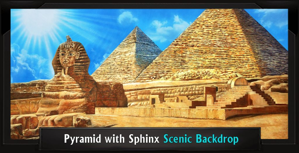PYRAMID WITH SPHINX Professional cenic Joseph and the Amazing Technicolor Dreamcoat Backdrop