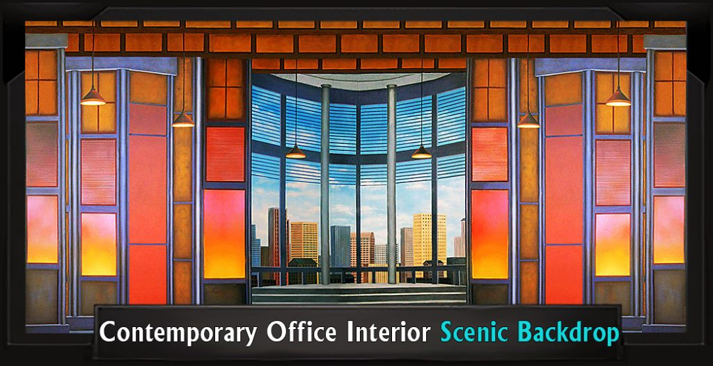 Contemporary Office Interior Professional Scenic